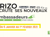 Orizo recrute ses nouveaux ambassadeurs